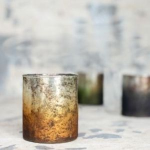 Metallic Tealights (set of three)